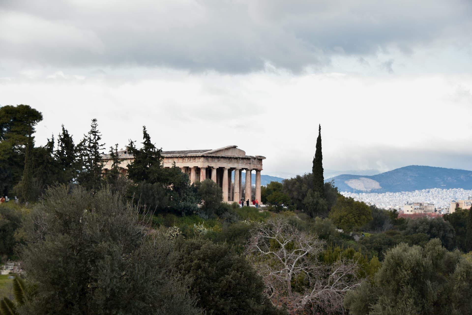 Agorà di Atene views